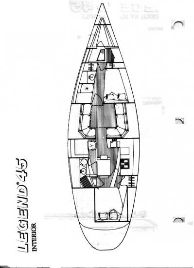 legend 45 hull x